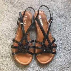 Black Rope Sandals